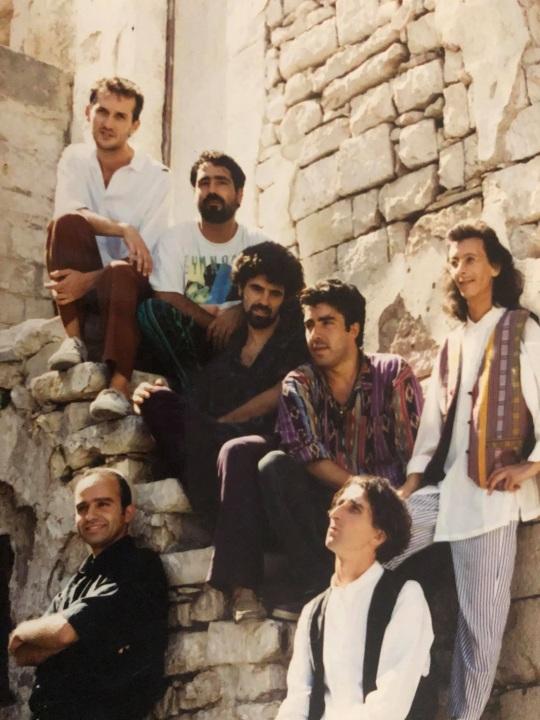 Rocco Draicchio con gli Al Darawish